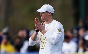 Le quarterback de la Nouvelle-Orléans Drew Brees, le 23 janvier 2020.