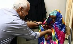 Saïda souffre de malnutrition dans un Yémen ravagé par la guerre civile. ATTENTION, L'IMAGE SUIVANTE PEUT CHOQUER.