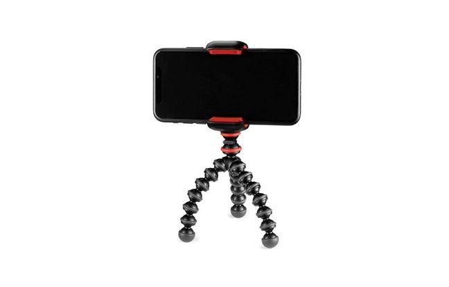 Le Starter Kit de Gorilla Pod accroche tous les smartphones.