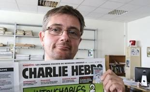 Portrait de Charb.
