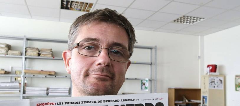 Portrait de Charb.