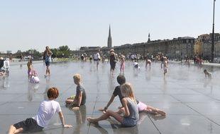 A Bordeaux, le 23 juillet, un nouveau record de chaleur a été enregistré avec 41,2°C.