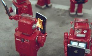 Capture de la vidéo IDiots de l'agence Big Lazy Robots.