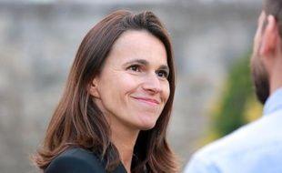 La ministre de la Culture Aurélie Filippetti à Angoulême, le 22 août 2014