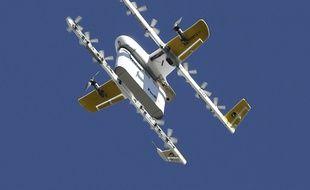 Un drone de l'entreprise Wing.