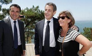 Yves Foulon ici avec Nicolas Sarkozy
