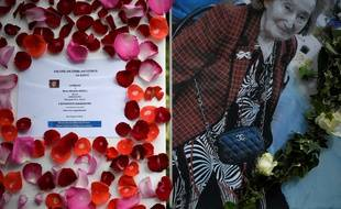 Des messages d'hommage ont été déposés devant l'appartement de la victime.