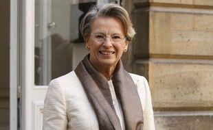 Michèle Alliot-Marie, la ministre de la Justice, le 5 janvier à Paris.
