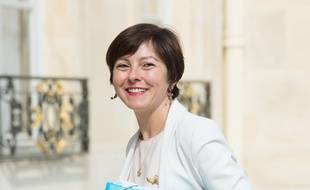 French Trade and Handicraft Junior Minister Carole Delga  arriving at the Elysee Palace, for the weekly cabinet meeting. Paris, FRANCE -18/06/2014/VILLARD_VILL091/Credit:VILLARD/SIPA/1406181542
