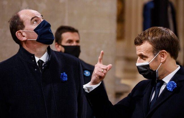Sondage: La confiance envers Macron et Castex en légère baisse