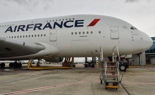 Coronavirus: Air France va contrôler la température de ses passagers (archives)