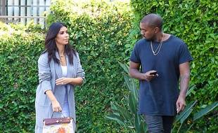 Kim Kardashian et Kanye West en novembre 2014