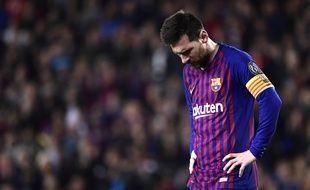Messi est déçu que le Barça n'ait pas recruté Neymar cet été.