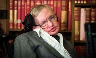 Le professeur Stephen Hawking à Oxford, le 14 novembre 2016.