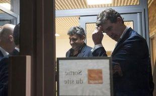 Arnaud Montebourg, ministre du Redressement productif, s'est rendu à la cellule de crise d'Orange, sans faire de déclaration.