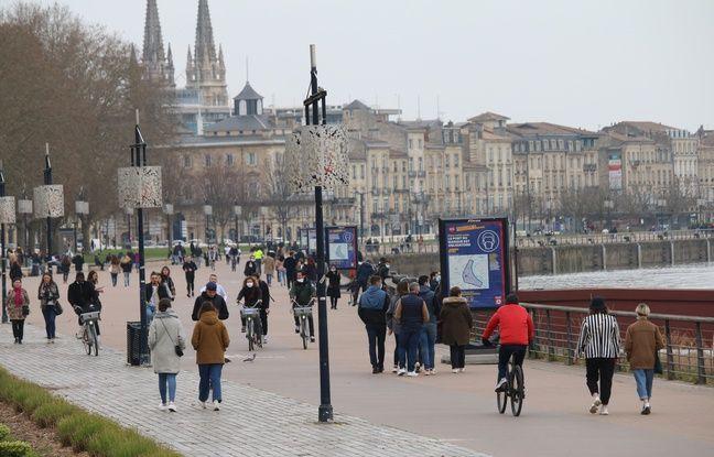 Les quais de Bordeaux, ce dimanche