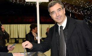 Dominique Reynié, candidat Les Républicains en Midi-Languedoc, le 13 décembre 2015 à Onet-le-Château