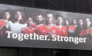 La campagne d'encouragement imaginée par la Fédération galloise est, elle, bien visible à Dinard.