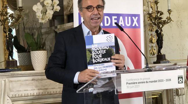 Bordeaux : « Je suis le premier des impatients bordelais », lance Hurmic à l'heure du premier bilan