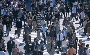Illustration: Une photo de foule.