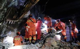 Le séisme de magnitude 6 qui a frappé la Chine lundi 17 juin a détruit de nombreuses habitations.