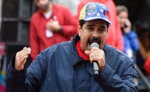 Le président du Venezuela, Nicolas Maduro, à Caracas le 1er mai 2016