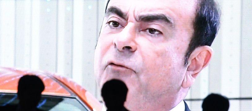 Carlos Ghosn, PDG de Renault. Photo by Toshifumi KITAMURA / AFP.