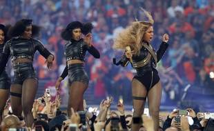Beyoncé au au Super Bowl 2016