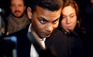 Yassine Bouzrou, un des avocats de Tariq Ramadan le 2 février 2018 à Paris.