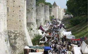 Des reconstitutions ont permis de vivreà l'époque des foires de Champagne qui ont fait la renommée de Provins du XIe au XIIIe siècle.