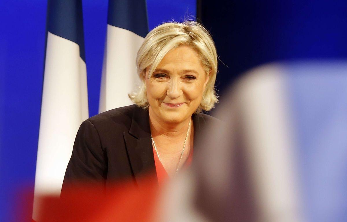 La candidate FN Marine Le Pen au soir de sa défaite à la présidentielle, le 7 mai 2017 à Paris. – Michel Euler/AP/SIPA