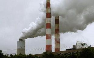 Une centrale thermique à Newburg, dans le Maryland, le 29 mai 2014