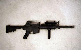 Un pistolet mitrailleur Airsoft, réplique d'une véritable arme (illustration).