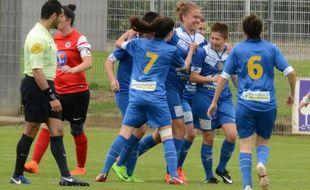 L'AS Portet-Carrefour-Récébédou a obtenu sa première montée en D2 à l'issue de la saison dernière.