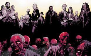 Comme son titre l'indique, «Walking Dead» est un comics sur les morts-vivants, mais surtout sur les vivants
