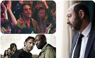 Vinyl (HBO), Walking Dead (AMC) et Baron Noir (Canal+)