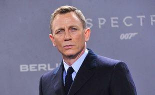 L'acteur Daniel Craig pendant la promotion de Spectre