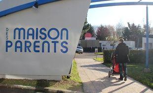 L'entrée de la Maison des Parents située à côté de l'Hôpital Sud à Rennes.