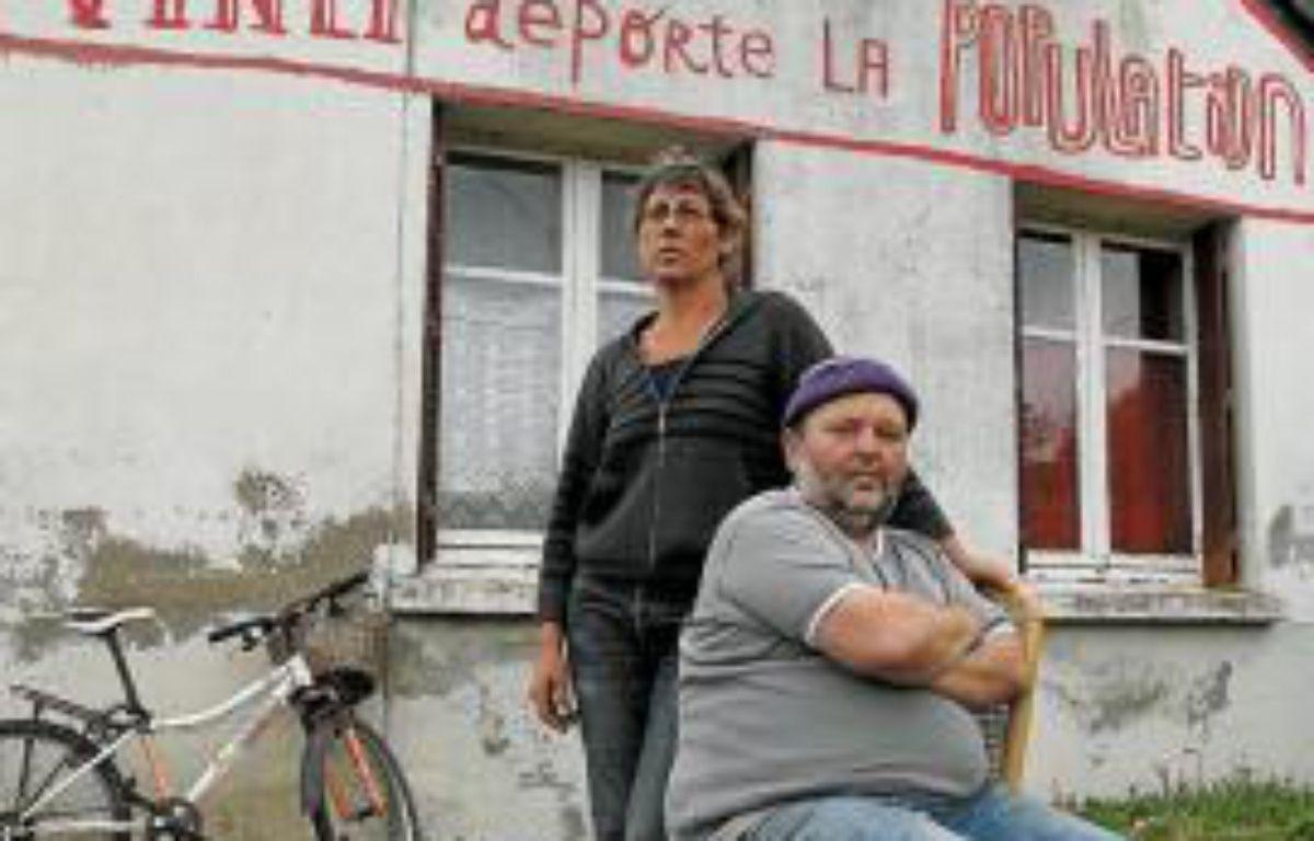 Christiane et Claude Herbin vivent à Notre-Dame-des-Landes depuis 1996. –  F. Elsner / 20 Minutes