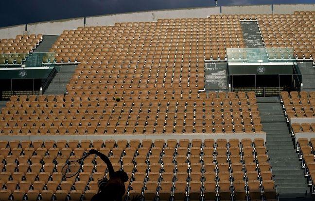 Roland-Garros: La jauge fixée à 1.000 spectateurs par jour, «un coup dur pour le tournoi» selon Forget
