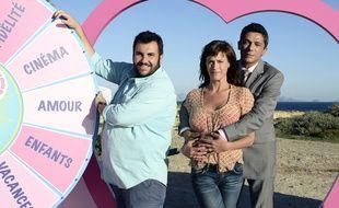 Laurent Ournac, Dominique Guillo et Anne Caillon dans «Camping Paradis».