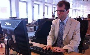 Fabien Chevalier, président de Sauvons l'Europe, le 25 juillet 2011