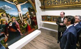 Le retable est visible au musée Masséna