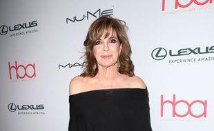 L'actrice Linda Gray à la soirée Hollywood Beauty Award, le 19 février 2017.