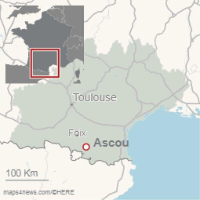 La colonie avait lieu à Ascou, en Ariège, à 1.500 mètres d'altitude.