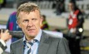 Patrice Lair, l'entraîneur de l'OL.