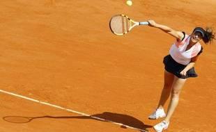 Aravane Rezaï, le 25 mai 2009 à Roland-Garros.