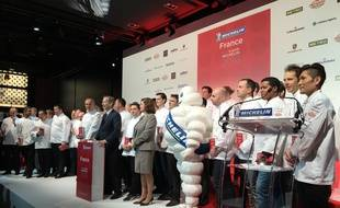 Les 53 chefs distingués par le guide Michelin 2016