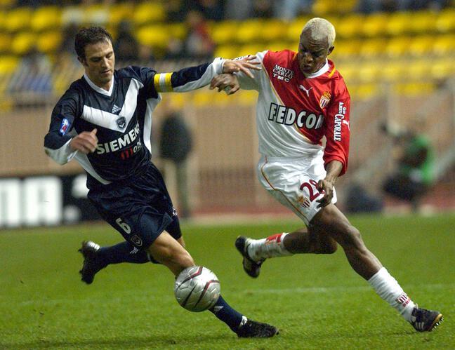 Alain Roche sous le maillot des Girondins de Bordeaux en 2002.