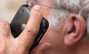 Illustration sur la nocivité des téléphones portables sur la santé.